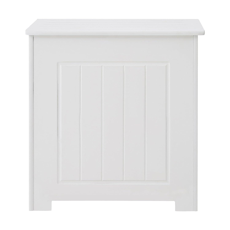 Premier Housewares Placard de salle de bains avec tiroir supérieur Blanc 76 x 42 x 34 cm 2400944 2400944_White
