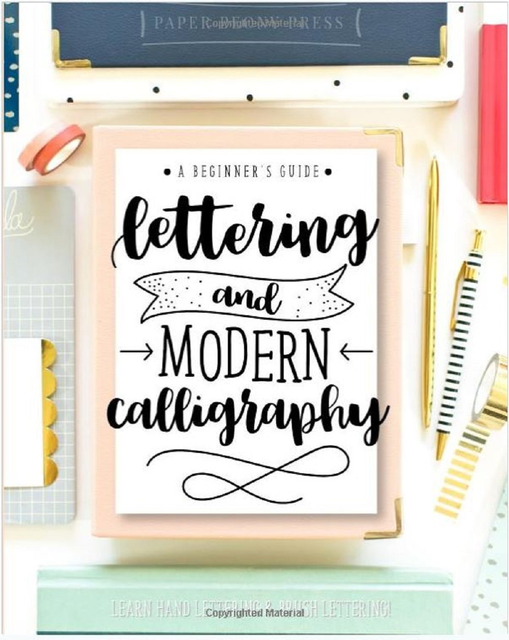 Lettering kit : Tombow Lettering Set Marker & Lettering and Modern Calligraphy: A Beginner's Guide: Learn Hand Lettering and Brush Lettering by American Tombow (Image #3)
