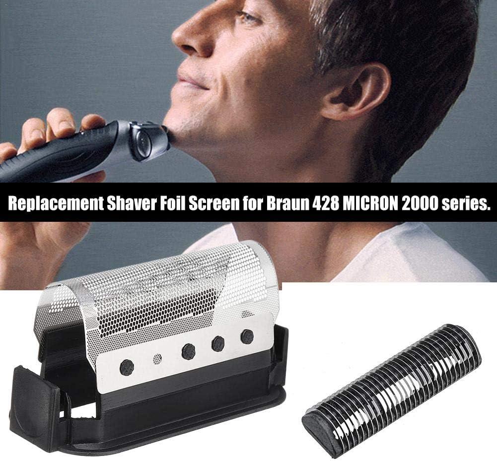 Further - Cuchilla de afeitar para Braun 428 Micron 2000/2111/2115 ...