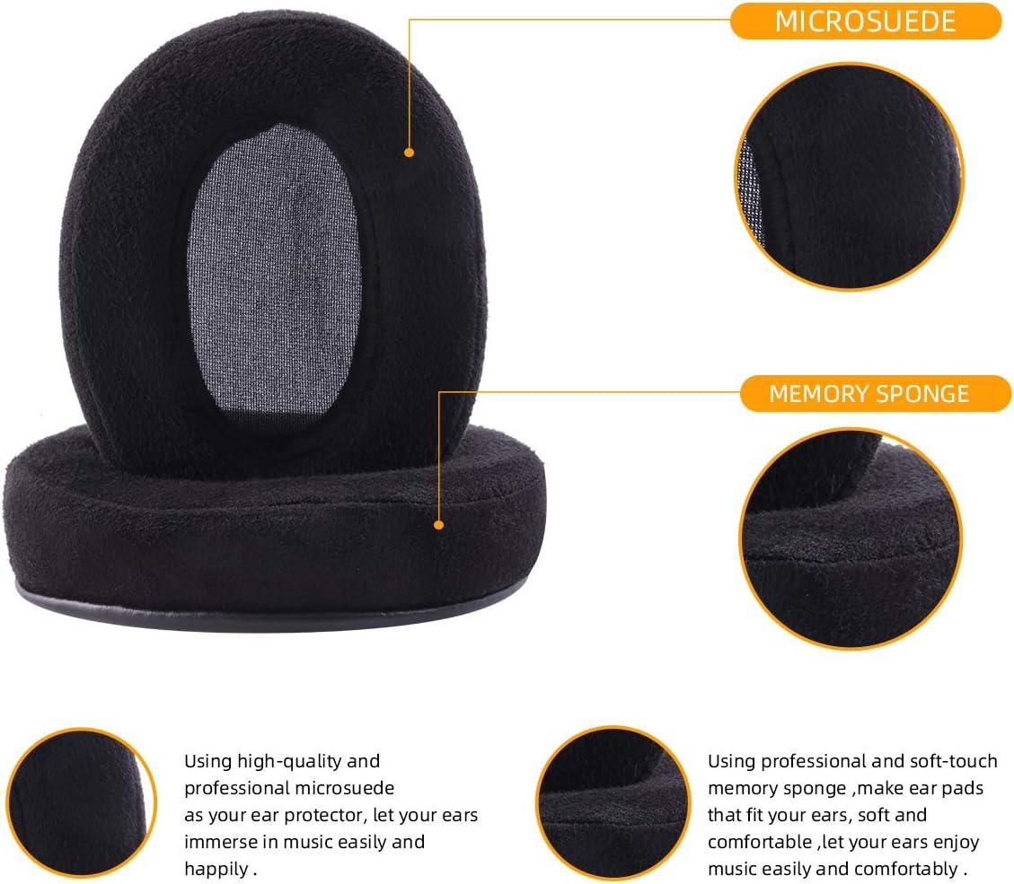 Gesongzhe Ear Pads for Brainwavz HM5 ATH-M50X SHURE AKG HifiMan ...