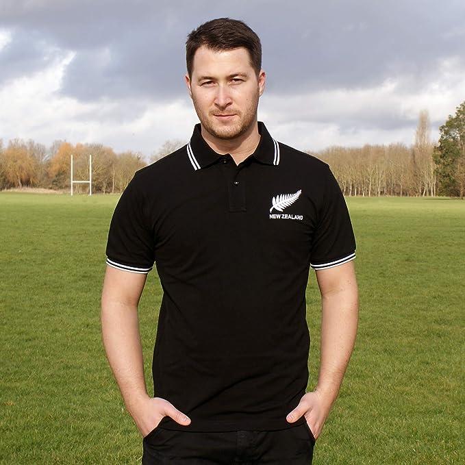 Retro para hombre New Zealand Rugby – Polo para hombre ...