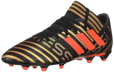 brand new 55673 7e80d adidas Boys Nemeziz Messi 17.3 FG J, core BlackSolar redTactile