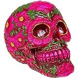 Nemesis Now Skull Sugar Blossom Figur (Pink)