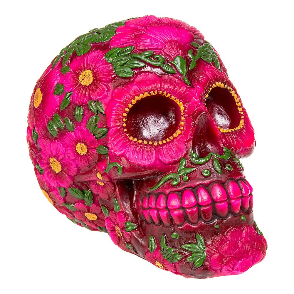 Sugar Blossom Skull Day of the Dead Nemesis Now