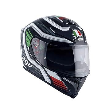AGV Casco de moto K-5 S E2205 Multi PLK, Firerace Black/Italy