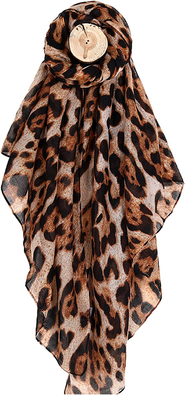 Women Large Leopard Animal...