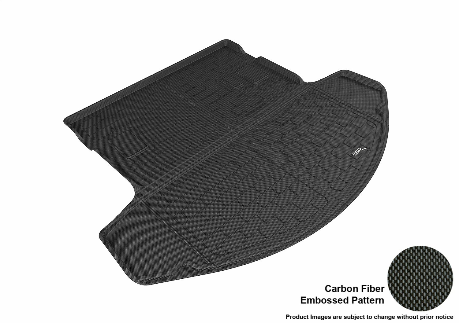 3D MAXpider L1MZ05721509 Black All-Weather Floor Mat for Select Mazda Cx-9 Models Second Row