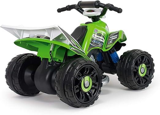 INJUSA – Quad Kawasaki ATV de 12V Licenciado con Marcha ...