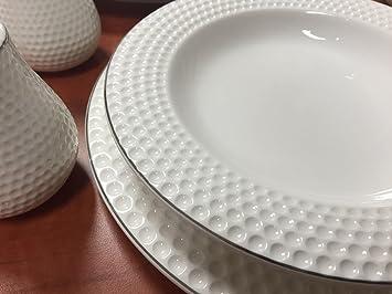 28 Teilig Tafelservice Ess Service Porzellan Set Geschirr Rund In