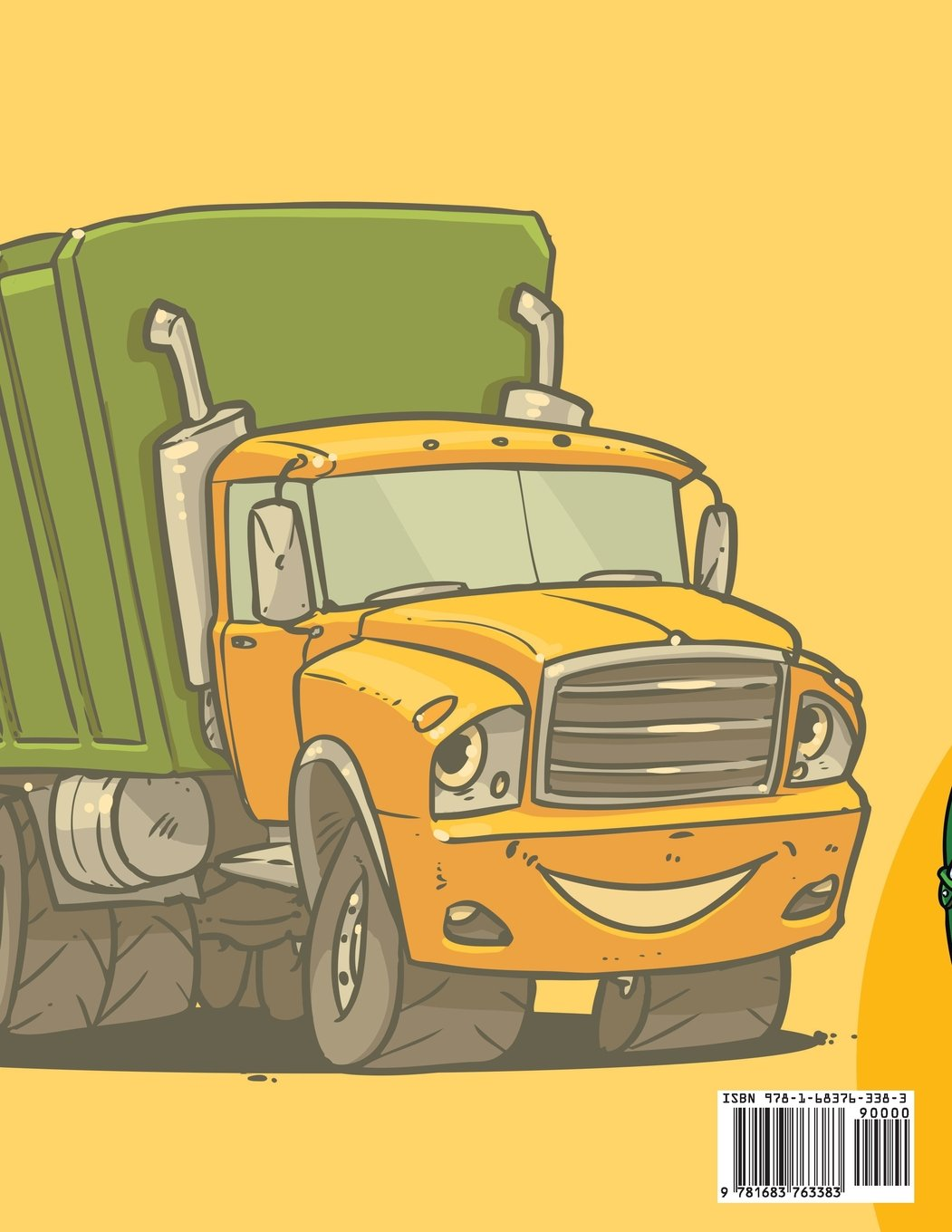 Garbage truck coloring book - Garbage Truck Coloring Books Activity Book Zone For Kids 9781683763383 Amazon Com Books