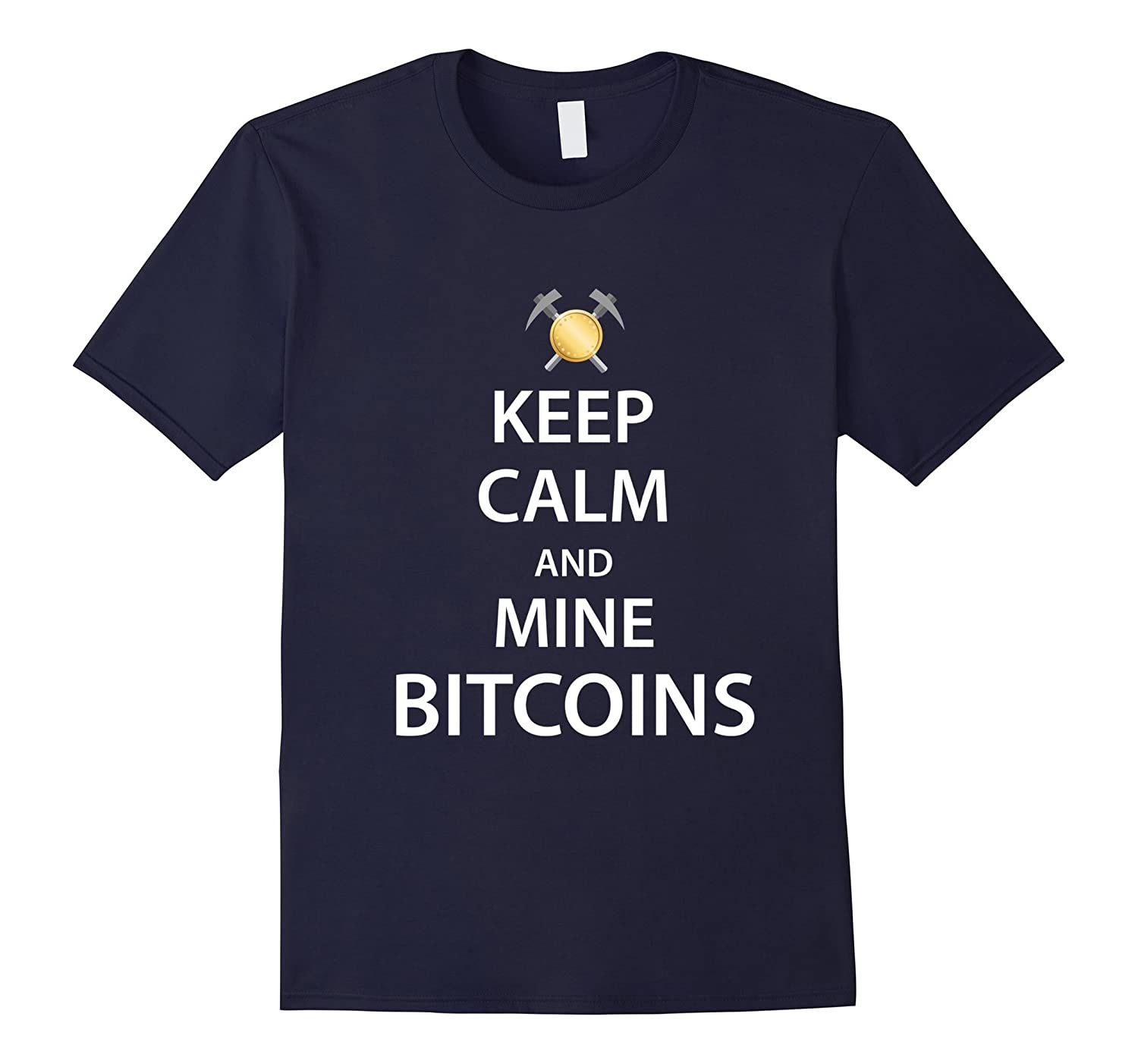 Funny Bitcoin-Shirt for Bitcoin miners and lovers tshirt-TJ