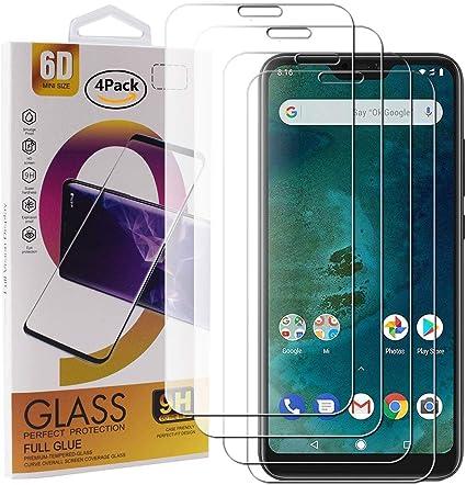 Guran 4 Paquete Cristal Templado Protector de Pantalla para Xiaomi ...