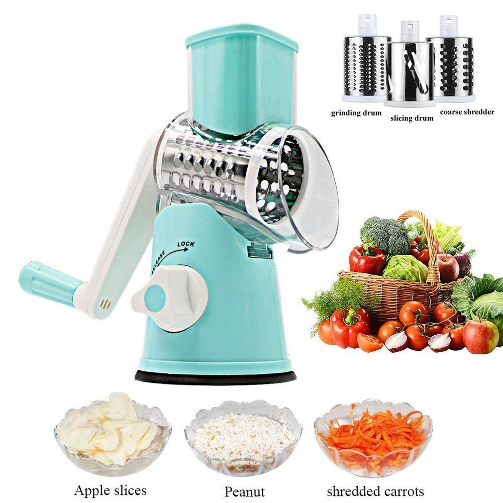 Amazon.com: Vegetable Mandoline Chopper Slicer Vegetable Fruit ...