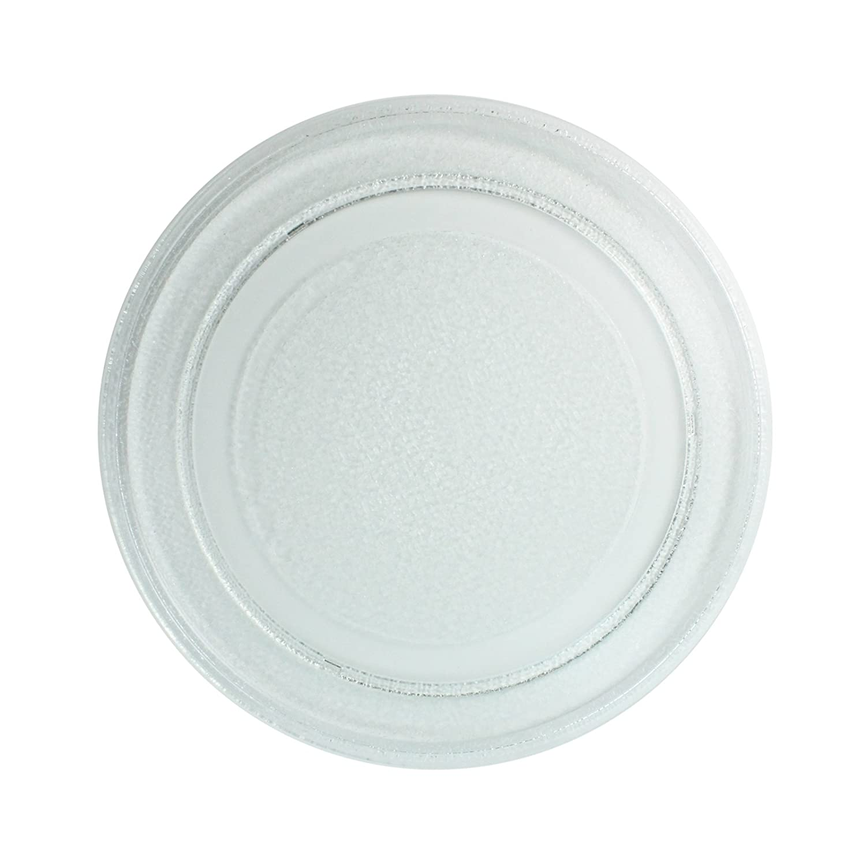 First4Spares - Piatto rotante per microonde Akai in vetro liscio, 245 mm