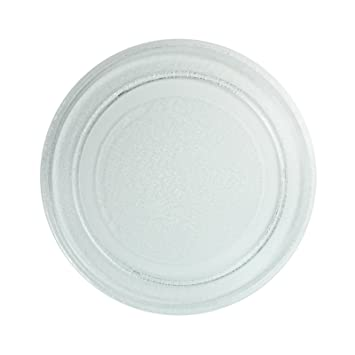 First4spares Smooth Glass Microwave Turntable Plate For