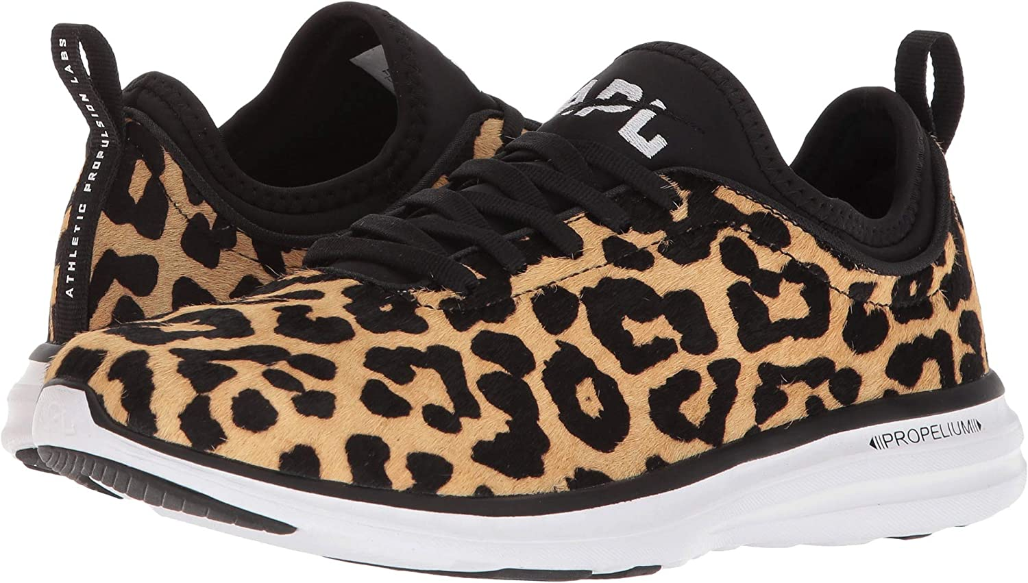 cd43f47656d5 APL: Athletic Propulsion Labs APL Techloom Phantom Haircalf Sneaker (9,  Leopard): Amazon.co.uk: Shoes & Bags