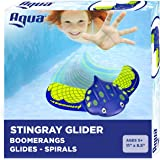 Aqua Stingray Underwater Glider, Swimming Pool Toy, Self-Propelled, Adjustable Fins, Travels up to 60 Feet, Dive and…