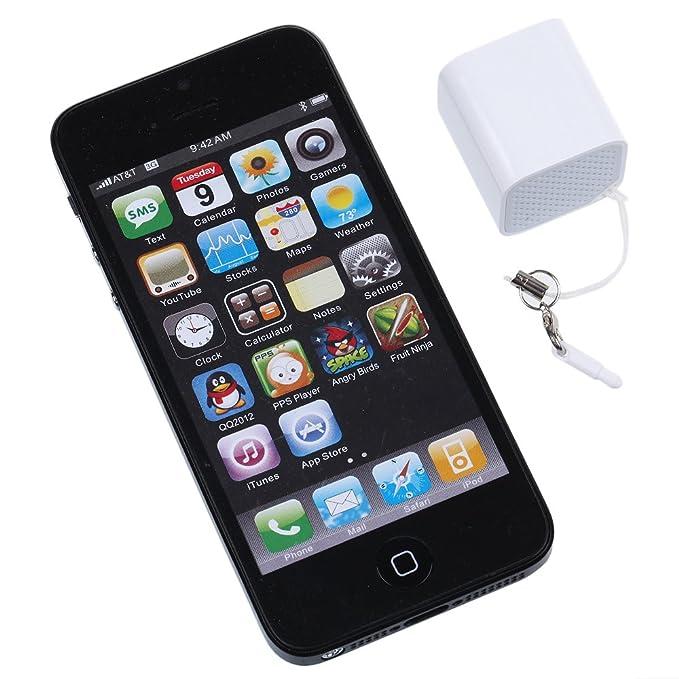 Altavoz Bluetooth Multifunción JTL-8 Mini Portátil para el Teléfono y la Tableta (blanco)