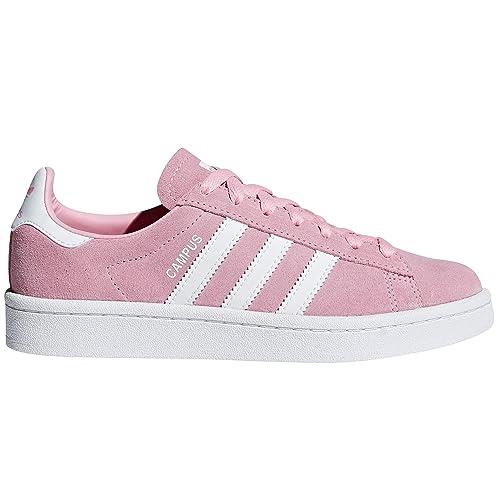 Adidas Original Campus Zapatillas Deportivas Rosas y Azules para Mujer de Ante. Sneaker Trainer: Amazon.es: Zapatos y complementos