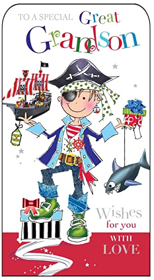Jonny Javelin Great Grandson Birthday Card Amazon Co Uk Office