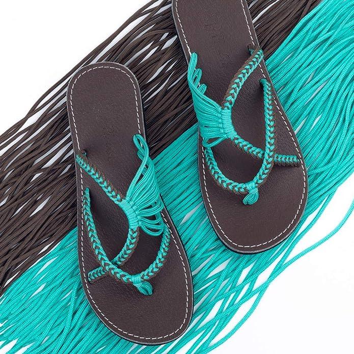 ef6836aad34 Plaka Flip Flops Sandals for Women Oceanside  Amazon.com.au  Fashion