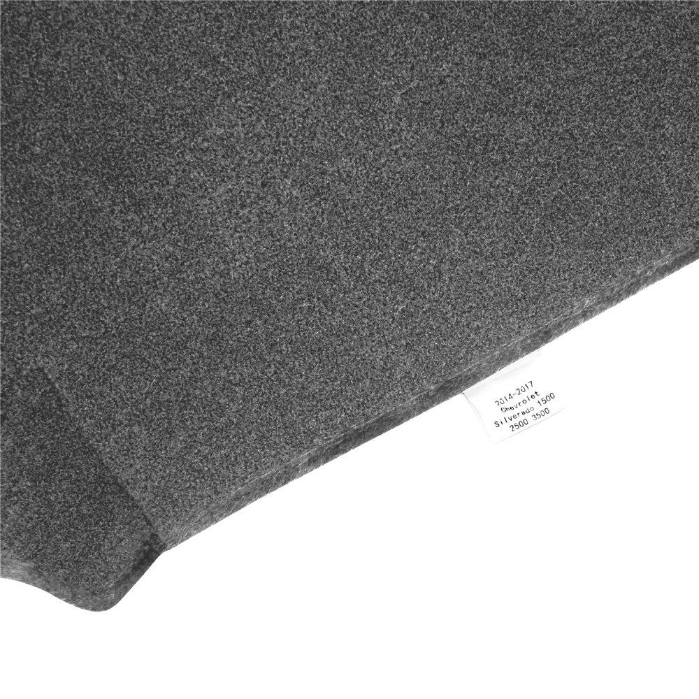 Sienna 04-07, Gray JIAKANUO Auto Car Dashboard Carpet Dash Board Cover Mat fit for Toyota Sienna 2004-2007 MR048