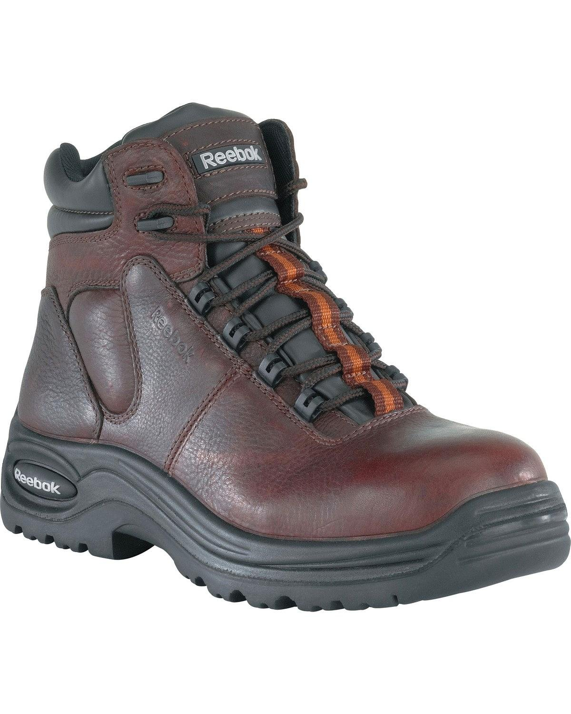 Reebok Work Men's Trainex RB7755 Work Shoe, Brown, 6 M US