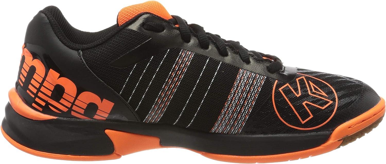Multicoloured Black Fluo Orange 07 Kempa Mens Attack Contender Sneaker 11.5 UK