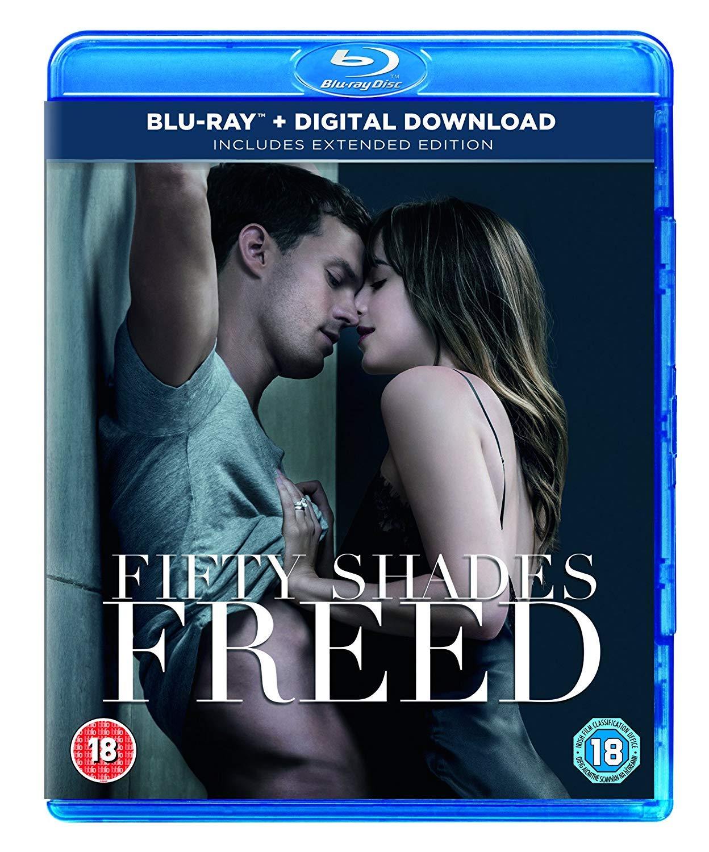 Fifty Shades Freed Blu-ray + digital download 2018 Region Free