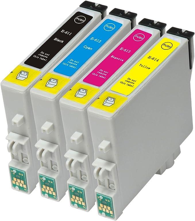 T0615 Tintenpatronen Für Epson Stylus D68 D88 D88 Computer Zubehör