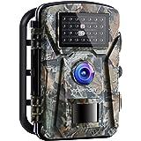 APEMAN Trail Camera 16MP 1080P No-Glow Infrared Night Vision Hunting Camera for Wildlife Monitoring, Garden, Home…