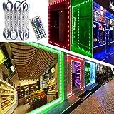 LED Storefront Lights, Pomelotree 40ft 80 Pieces Waterproof Decorative Light for Letter Advertising Signs, 4 Set 5050 SMD LED