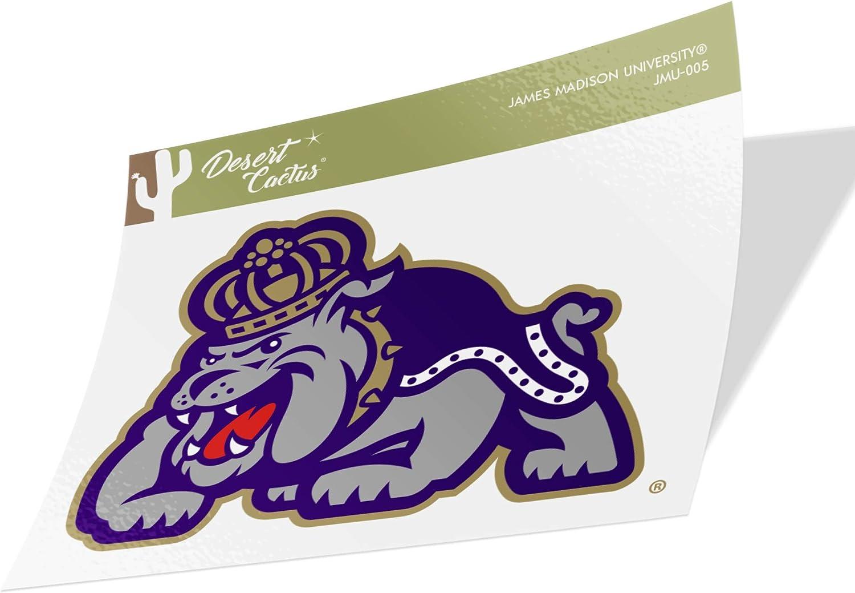 James Madison University JMU Dukes NCAA Vinyl Decal Laptop Water Bottle Car Scrapbook (Sticker - 005)