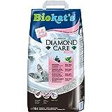Biokat's Diamond Care Fresh, arena para gatos con fragancia – Arena aglomerante para gatos: de alta calidad, con carbón…
