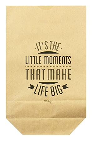 Mr. Wonderful wom00466 Pack de 5 bolsas kraft - it s the ...