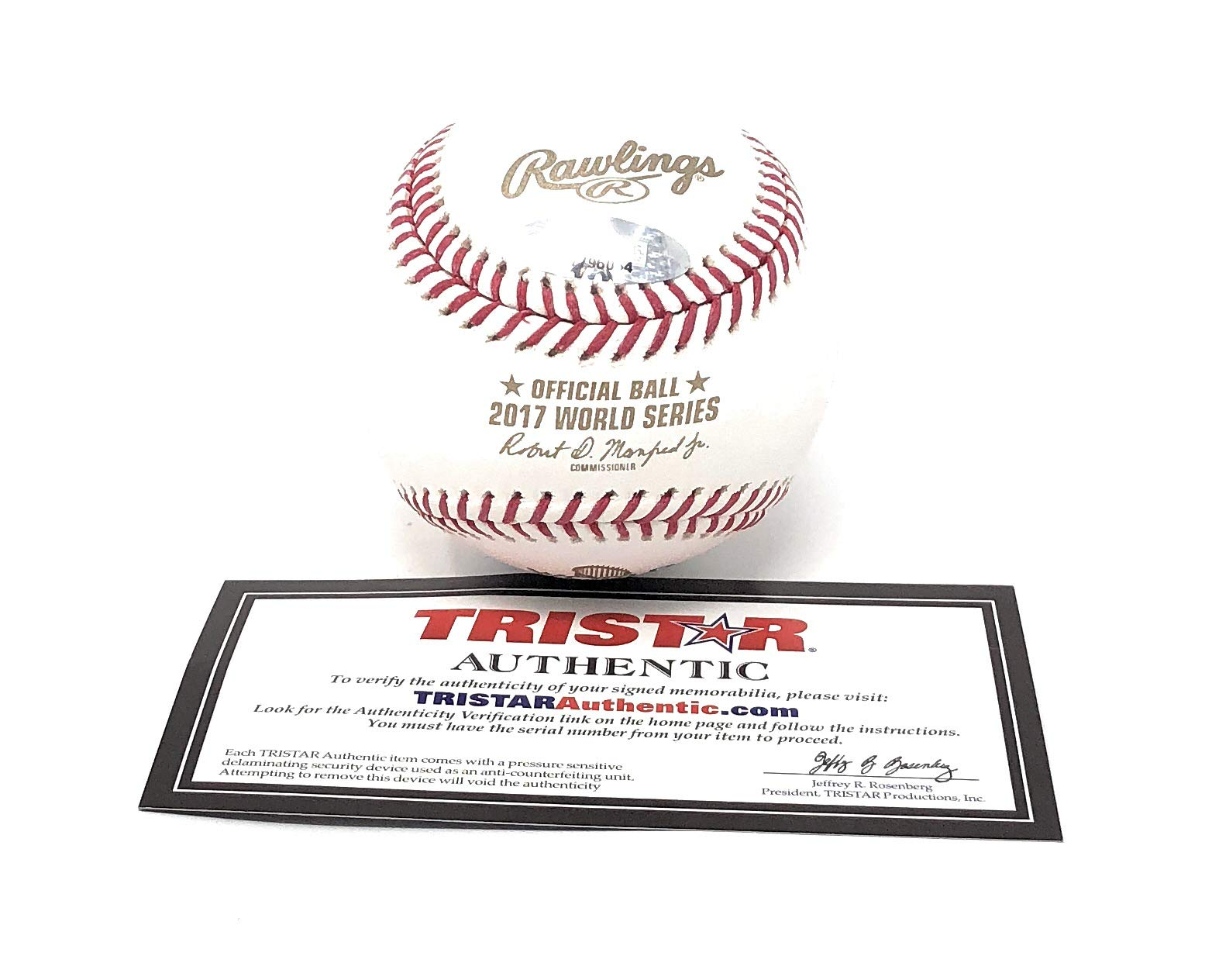 Josh Reddick Houston Astros Signed Autograph Official MLB World Series Baseball Tristar Authentic Certified
