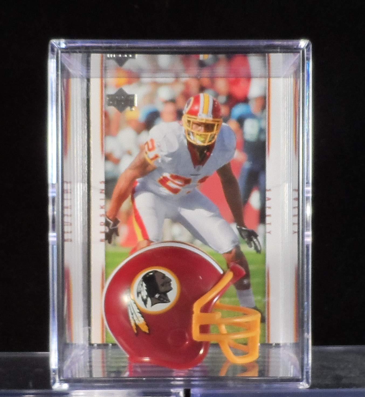 Sean Taylor Washington Redskins Trading Card & Mini-Helmet Display