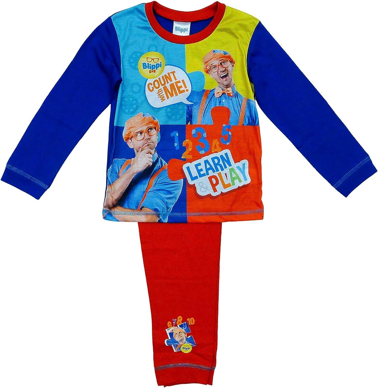 GetWivvit Blippi Pijama para niño, número con Me Learn & Play ...