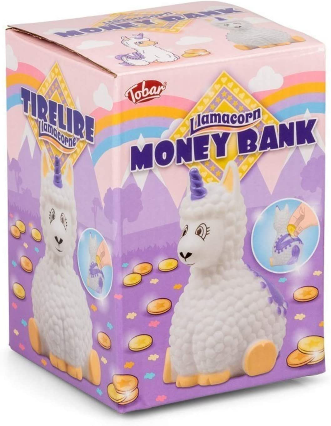 Tobar 35725 Llamacorn Money Bank