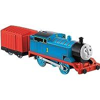 Thomas ve Arkadaşları TrackMaster Motorlu Tren Thomas, Kırmızı Vagonlu Mavi Lokomotif, Oyuncak Tren BML06