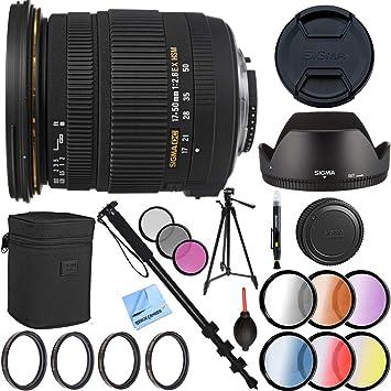 Sigma 17 - 50 mm f/2.8 EX DC OS HSM FLD lente de zoom para Canon ...