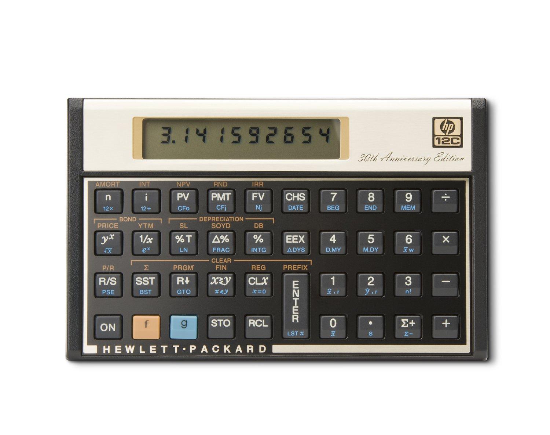 hp 12c 金融電卓 30周年記念 限定モデル B005TNFOEA