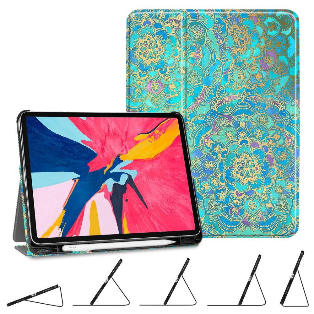 Fintie スリムシェル フォリオカバー iPad Pro 11インチ 2018用 EPAH128US B07KR32176 ZA-Shades of Blue ZA-Shades of Blue