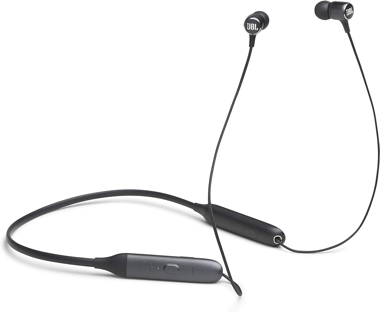 JBL LIVE 220BT - Auriculares inalámbricos intraaurales con Bluetooth y asistente de voz integrado, Tecnologías TalkThru y AmbientAware, hasta 10h de música, negro