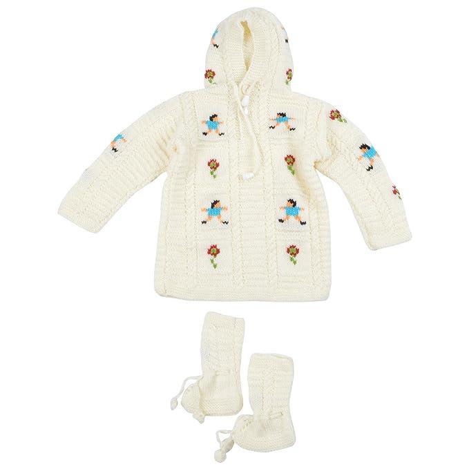 23e5d66f3 Kuchipoo Unisex Hand Knitted Woollen Clothing Set (KUC-SUT ...