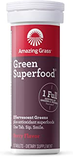 product image for Amazing Grass Effervescent Tablets Berry 10 Count