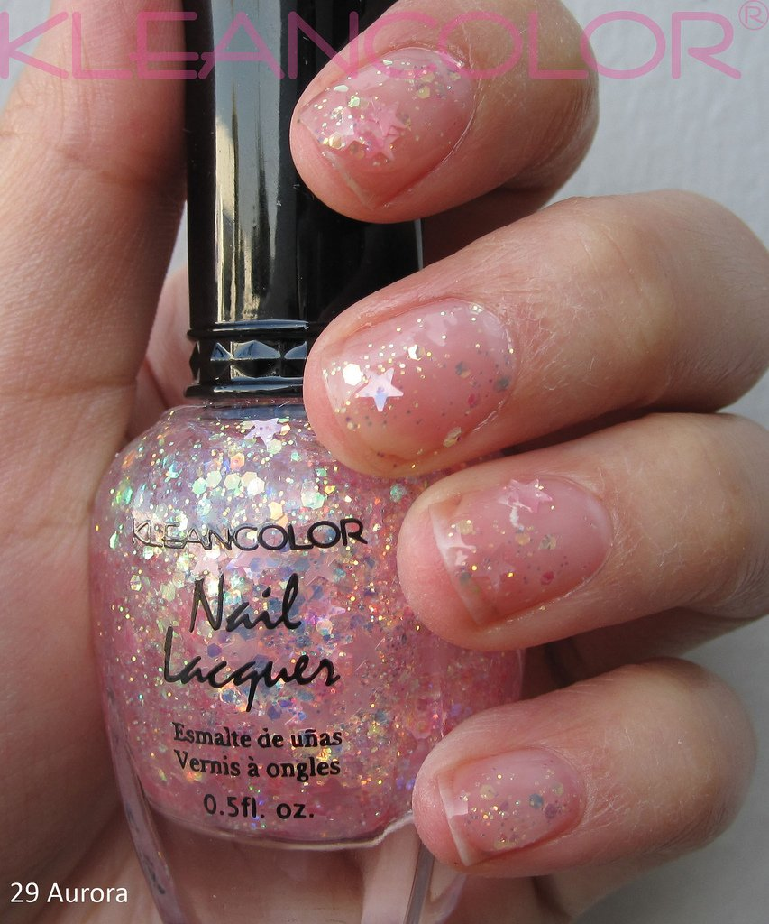 Amazon.com : Kleancolor Nail Lacquer Aurora 29 : Nail Polish : Beauty