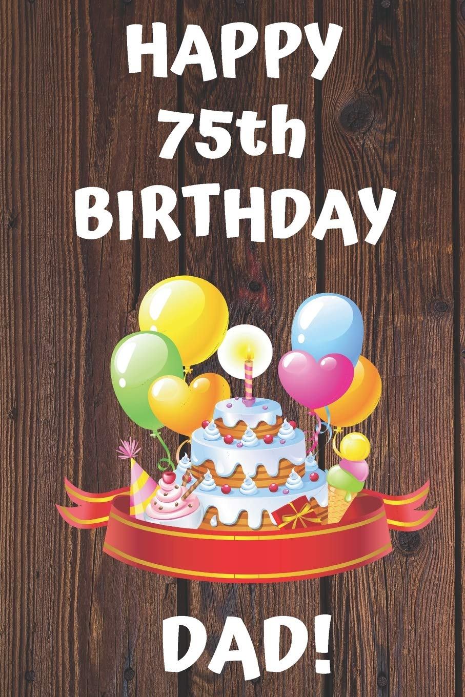 Dad 75th Birthday Card With Removable Laminate Buy Online In Andorra At Andorra Desertcart Com Productid 55284109