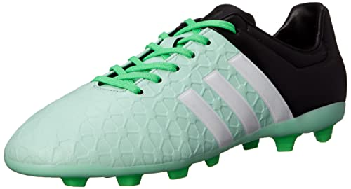 adidas Performance Women's Ace 15.4 Soccer Shoe, Frozen Green/White/Flash  Green,