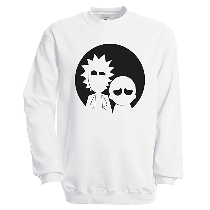 CHILLTEE Rick and Morty Funny Faces Wubba Lubba Dub Dub Sudadera Unisex: Amazon.es: Ropa y accesorios